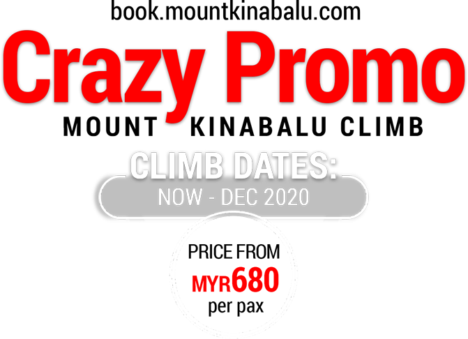 Mount Kinabalu Crazy Promo 2020 - Price from MYR680