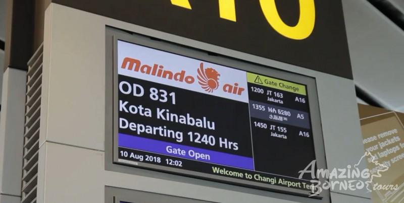 Sabah Welcomes Malindo Air Inaugural Singapore Kota