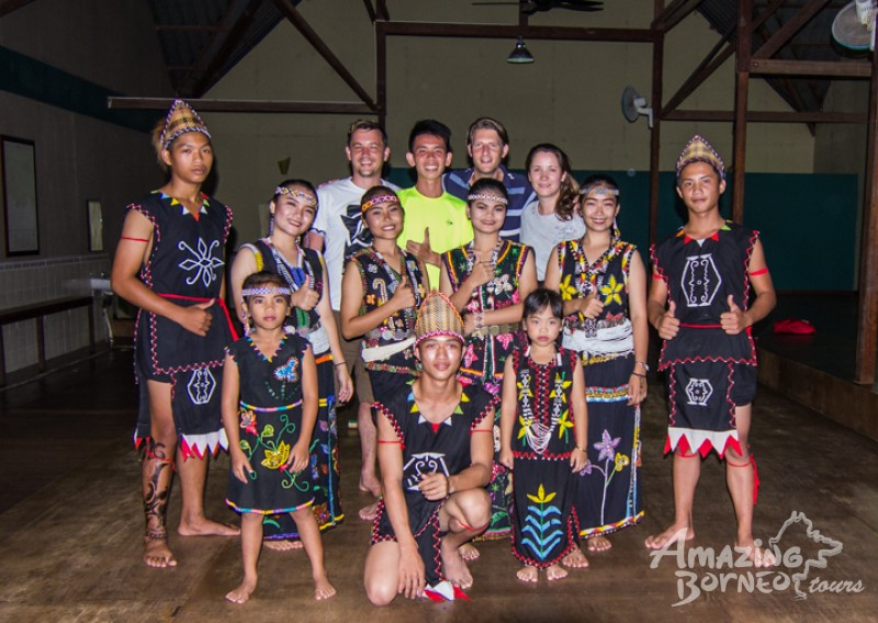 Become immersed in the fascinating Murut culture and make lasting friends