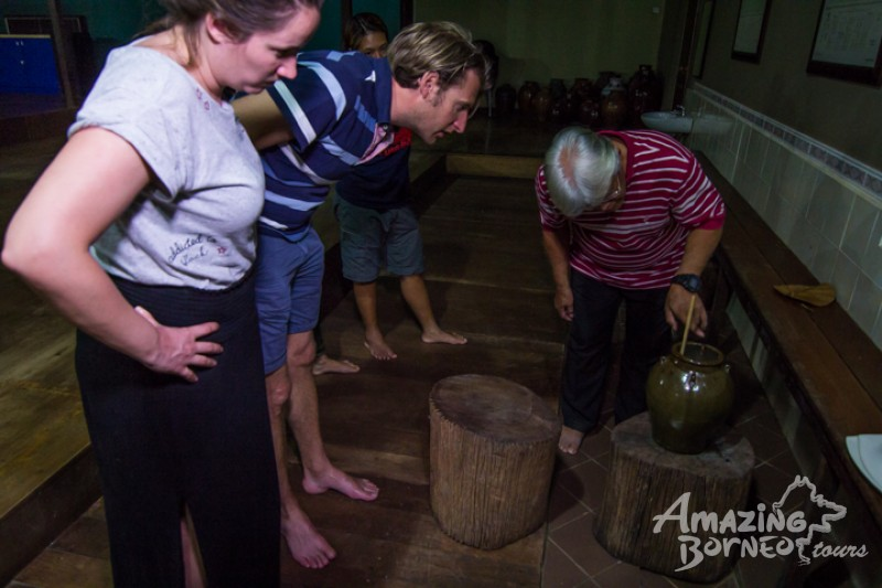 Learn how to drink the local rice wine