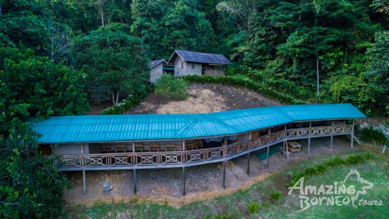 The Pungiton Eco Camp Guesthouse's Design is Inspired by the Murut Longhouses