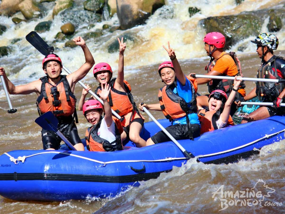 White Water Rafting - PADAS- Amazing Borneo Tours - Amazing Borneo Tours