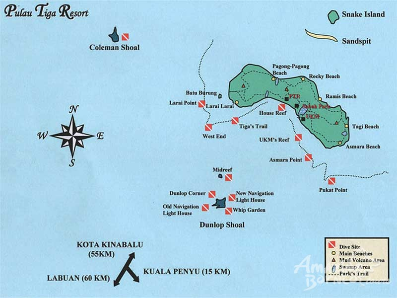 Map Of The Island For Survivor