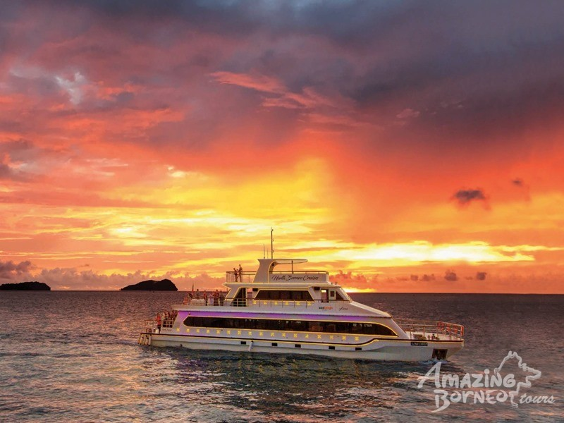 Best Deals for North Borneo Cruises - Sunset Dinner Cruise