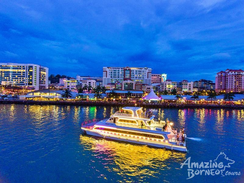 Best Deals for North Borneo Cruises - KK City Night Dinner Cruise