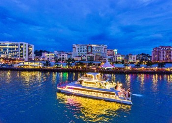 North Borneo Cruises - KK City Night Dinner Cruise