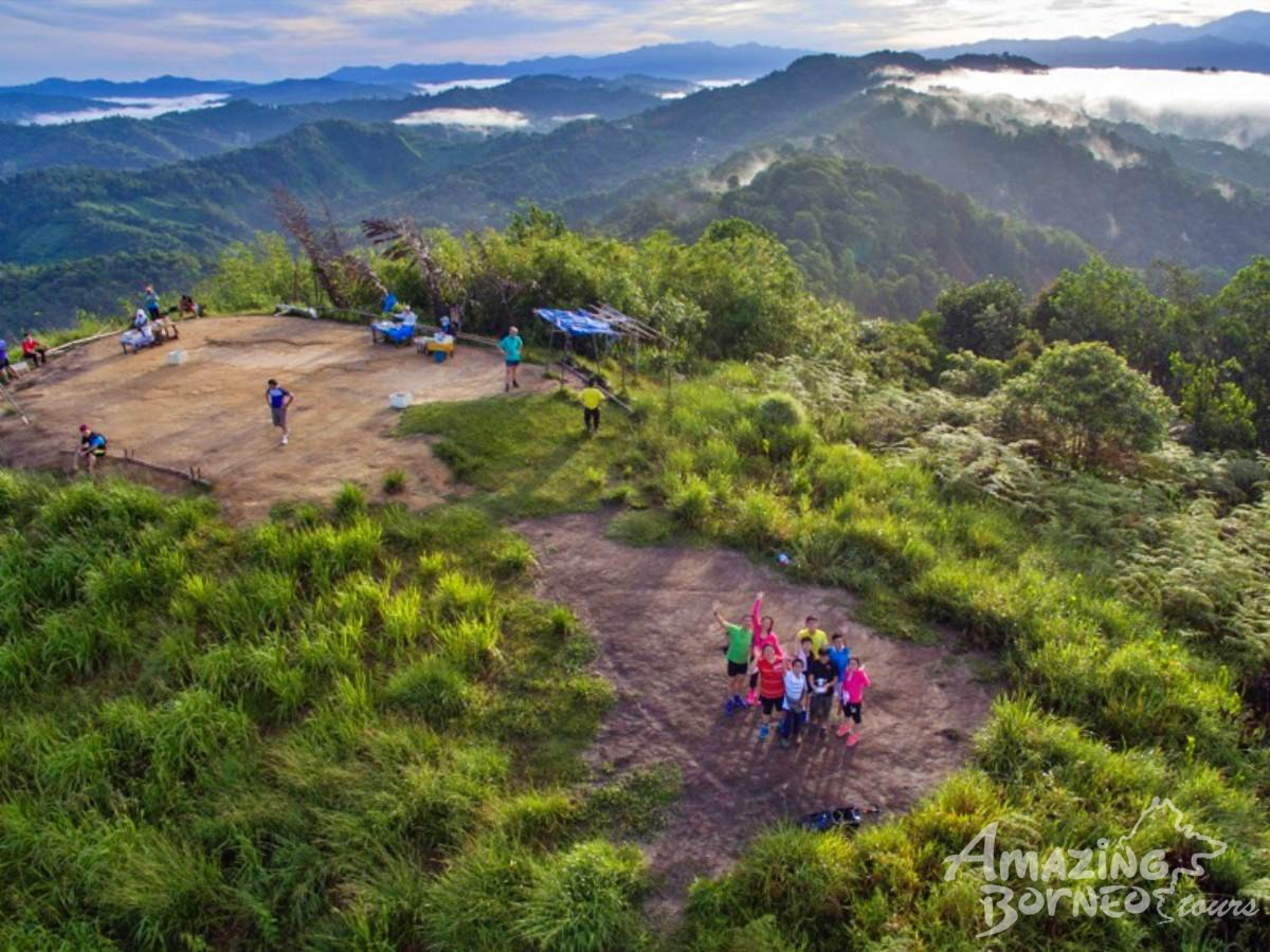 """Top of The World"" Sunrise Leisure Hike (St Veronica's Hill) - Amazing Borneo Tours"