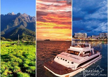 Kinabalu Park with Desa Cow Farm & Sunset Dinner Cruise