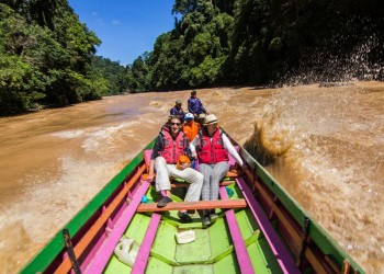 4D3N OROU SAPULOT - MYSTICAL BORNEO CAVE & PINNACLES ADVENTURE WITH KALIMANTAN BOAT RIDE