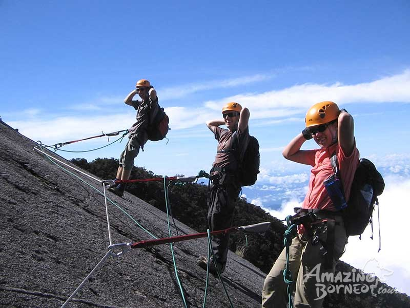 5D4N Mount Kinabalu With Via Ferrata - WTT & Water Rafting & KK City Stay (Beginner) - Amazing Borneo Tours
