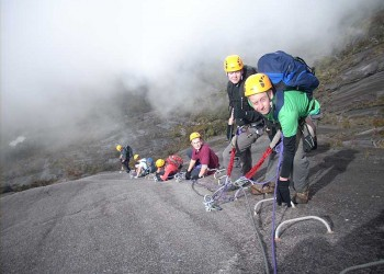 5D4N Mount Kinabalu With Via Ferrata - WTT & Water Rafting & KK City Stay (Beginner)