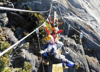 5D4N Mount Kinabalu Climb With Via Ferrata - LPC & Water Rafting & KK City Stay (Intermediate)