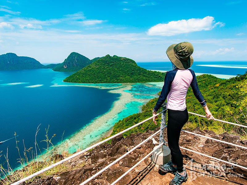 Bohey Dulang Hike with Mantabuan & Sibuan Islands Explorer - Amazing Borneo Tours