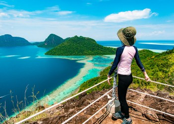 Bohey Dulang Hike with Mantabuan & Sibuan Islands Explorer