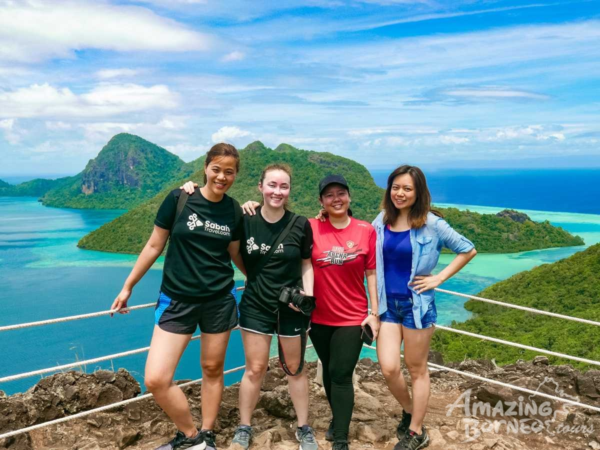 4D3N Semporna Islands With Bohey Dulang Hike - Amazing Borneo Tours