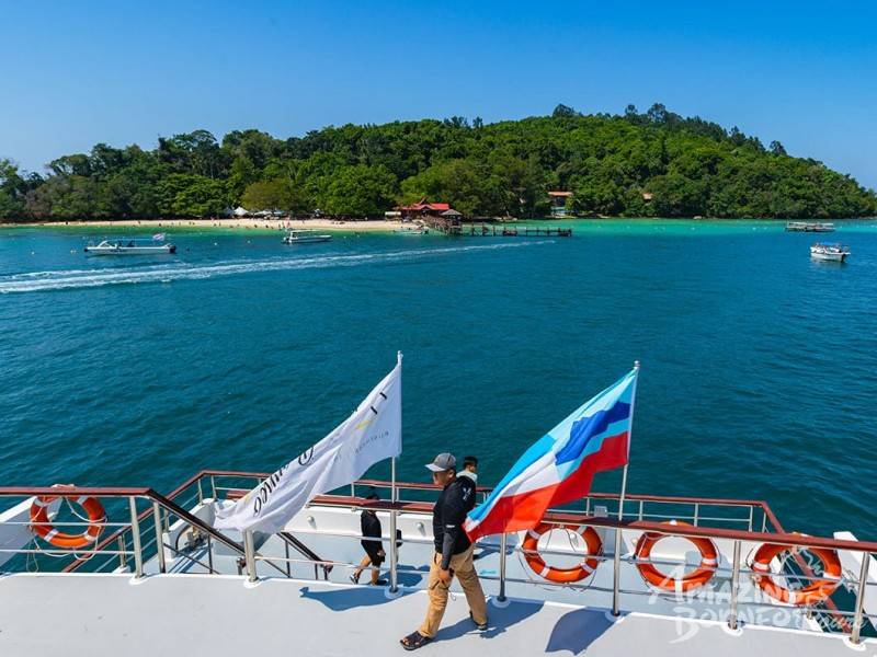North Borneo Cruises - Kota Kinabalu Islands Morning Cruise - Amazing Borneo Tours