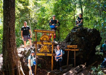 2D1N Aura Montoria - Jungle Trekking, Adventure Caving, Cliff Jumping