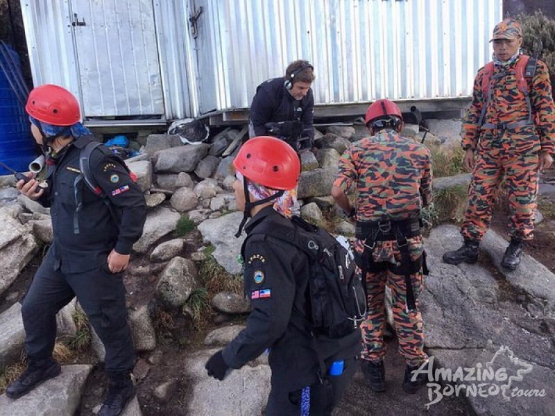 Mount Kinabalu Safety Upgrades: 22/07/16