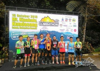 Amazing Borneo Mountain Guide grabs gold in 29th Mount Kinabalu International Climbathon