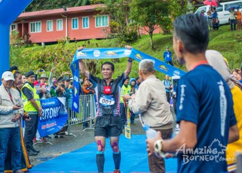 Safrey Emerged Victorious at Mount Kinabalu International Climbathon 2017!