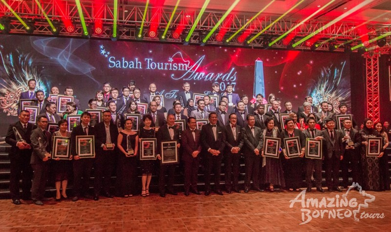 Amazing Borneo awarded Best Inbound Tour Operator at Sabah Tourism Awards 2017!