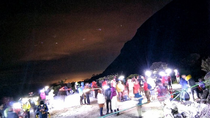 MOUNT KINABALU CLIMBING ACTIVITES TEMPORARILY SUSPENDED