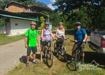 Cycling Through Sabah's Unique Landscapes
