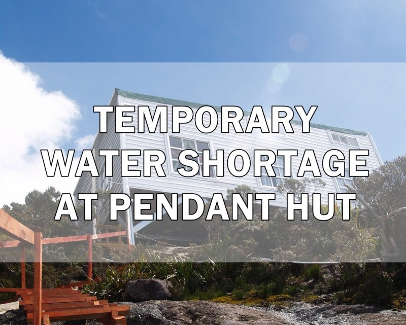 Temporary Water Shortage at Pendant Hut (Mount Kinabalu)