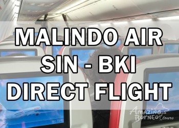 Sabah Welcomes Malindo Air Inaugural Singapore - Kota Kinabalu Direct Flight