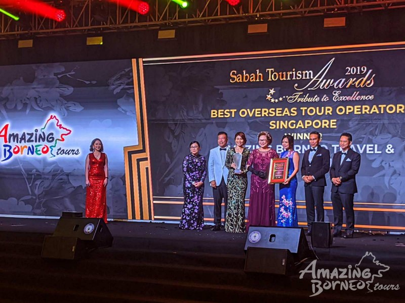 Amazing Borneo Won Two Awards at the Sabah Tourism Awards 2019!