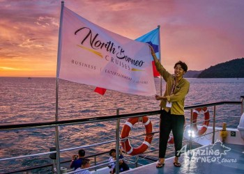 North Borneo Cruises hosted Sunset Cruise for Tourism Malaysia's Mega Fam Programme