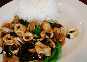 Kung Pao Squid