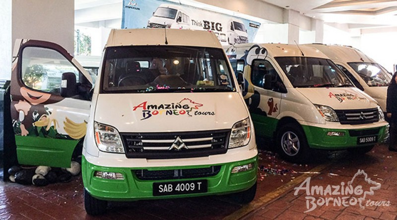 Better Comfort, Better Safety for Tourists. Amazing Borneo Tours is Proud to be the First to Own Maxus Tourist Passenger Van in East Malaysia