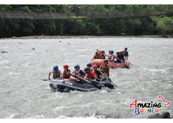 River Rafting on the Kiulu River, Grade 1-2