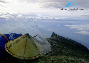 Ice Formation At Mount Kinabalu Summit