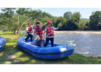 White Water Rafting in Kiulu